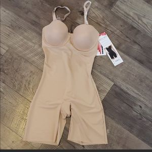 Spanx cupped bodysuit
